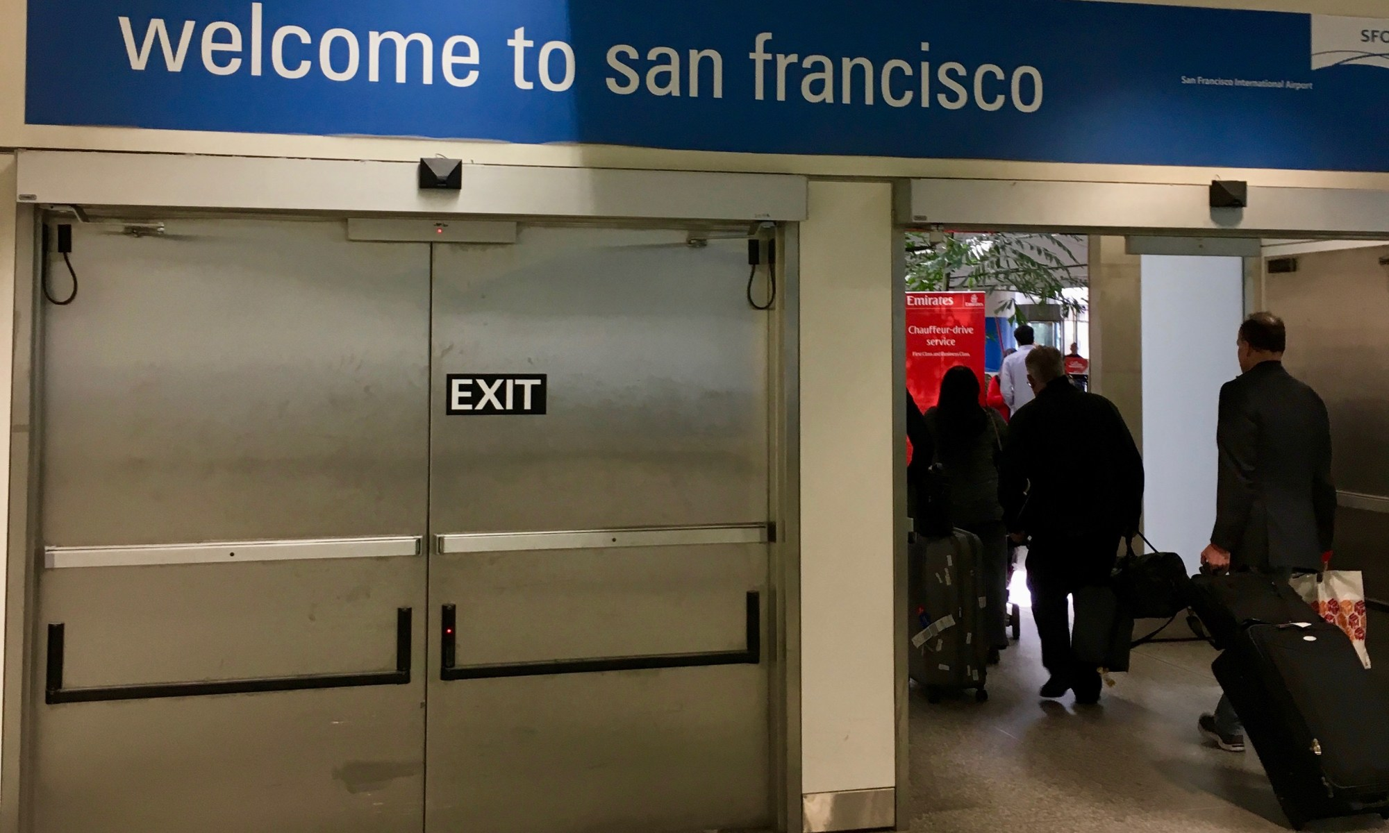 welcome to san francisco