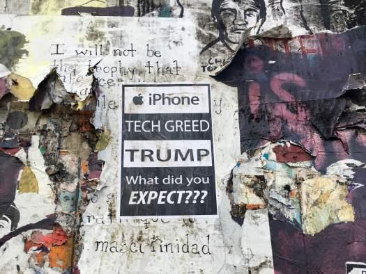 iphone tech greed trump