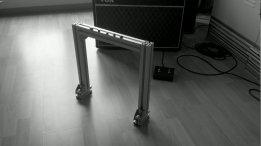 Aluminum Profile Fixture for Medium Mirror