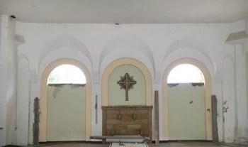 Besucherzentrum Trinitatisfriedhof – Baufortschritt Juni 2020