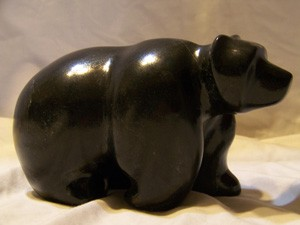 Big Black Bear Canadian Soapstone