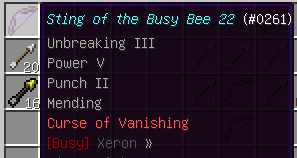 Sting of the Busy Bee