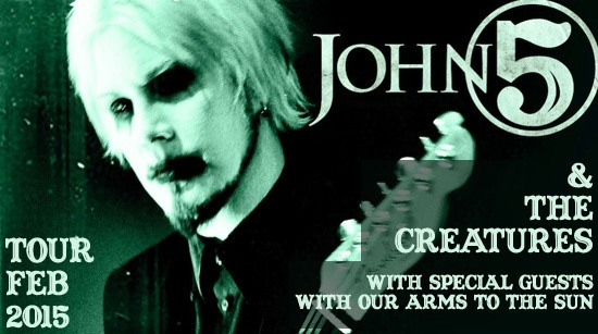 John 5 and the creatures tour 2015