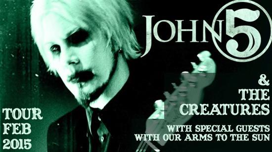 John 5 and the creatures tour 2015