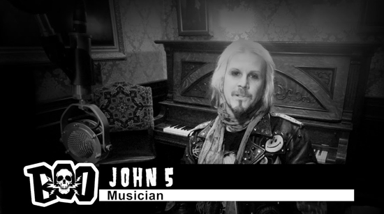 John 5 The Boo Crew podcast