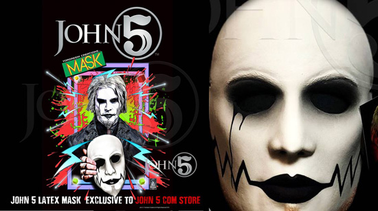 John 5 Limited Edition Latex Mask