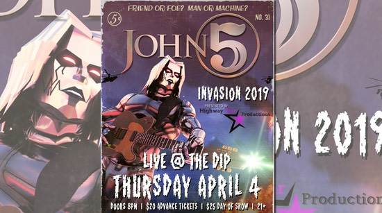 John 5 and The Creatures Invasion 2019 The Dip California