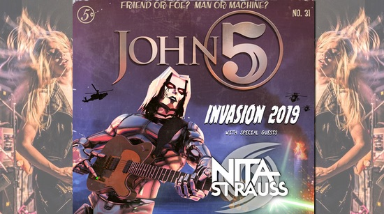 Nita Strauss John 5 and The Creatures