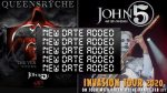 Queensryche John 5 new date