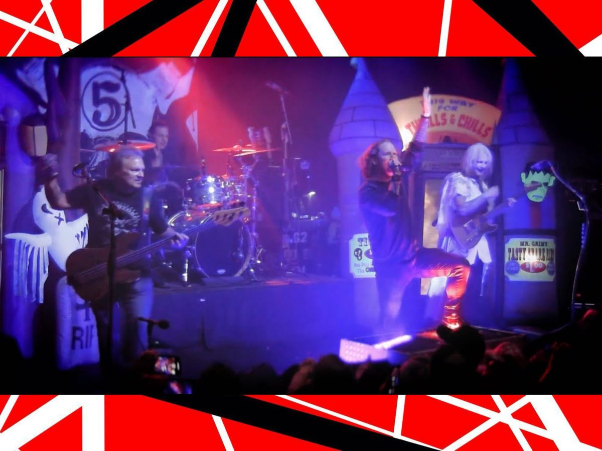 John 5 Eddie Van Halen Corey Taylor Fred Coury Michael Anthony Live Invasion