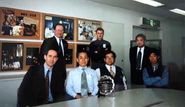 2006 John Foster celebrates 35 years of business with Japan