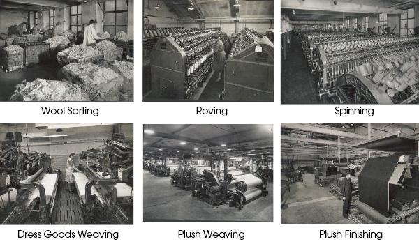 John Foster Machine Processes at Blackdyke Mills