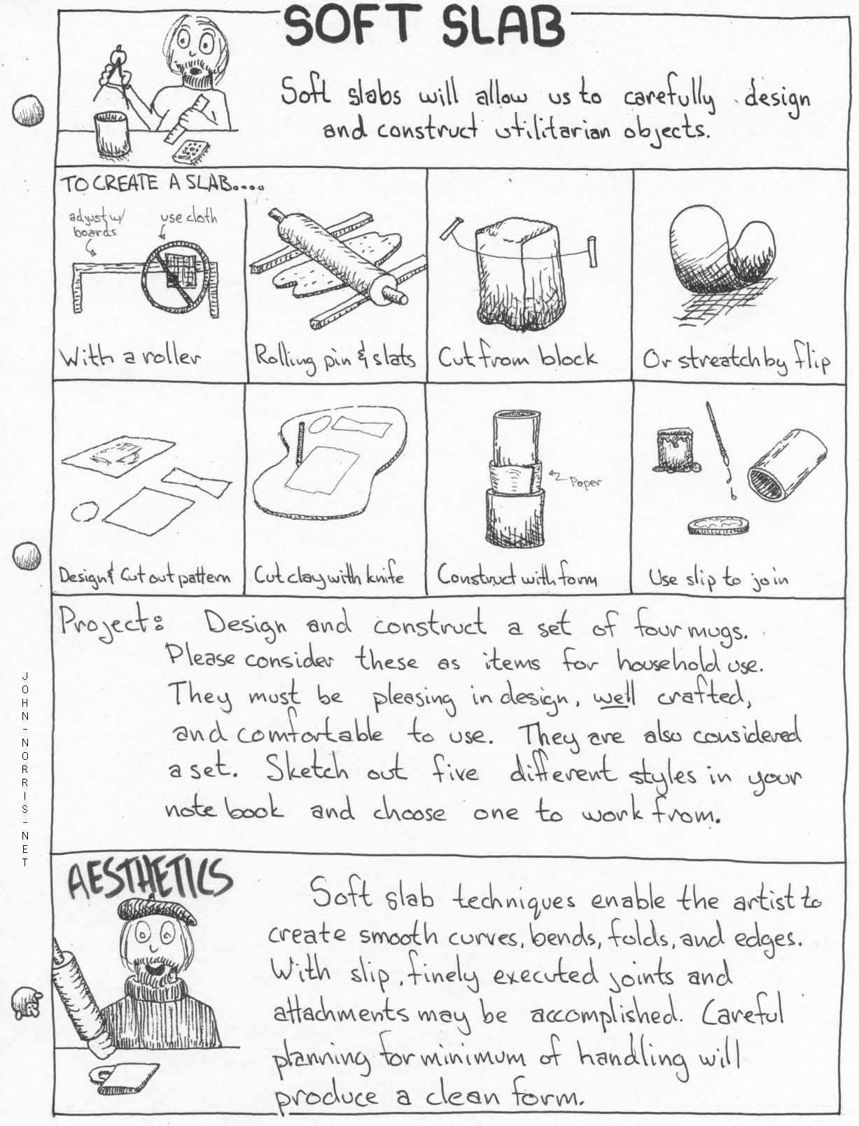 My Clay Handbuilding Notes