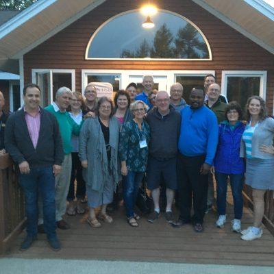 Pastors together at NE Area Leadership Seminar