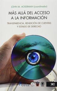 Book Cover: Más allá del acceso a la información