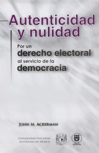 Book Cover: Autenticidad y nulidad