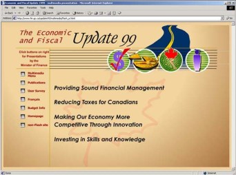 Financial multimedia documents and presentations
