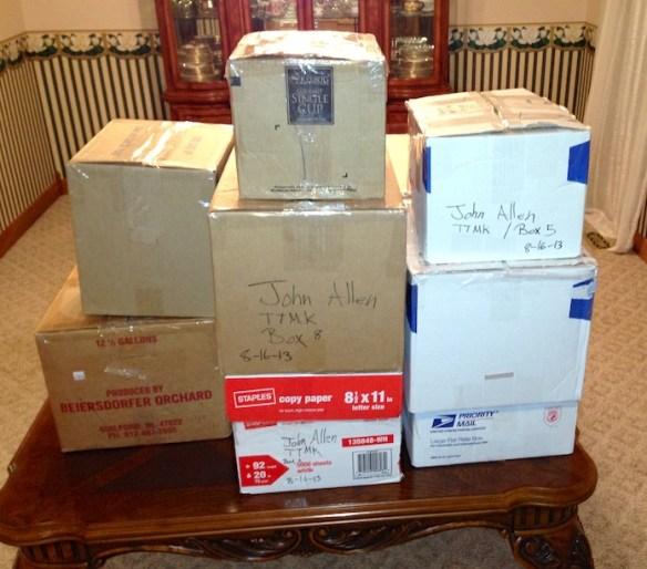 Medical supplies ready to ship!