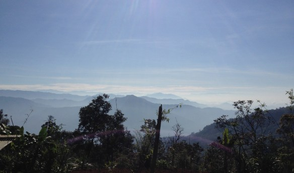 The beautiful vista of the Tauri River valley in Gulf Province, PNG (Nov. 2015)