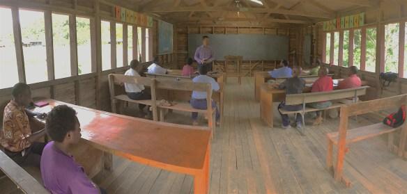 Matt speaking to the preachers