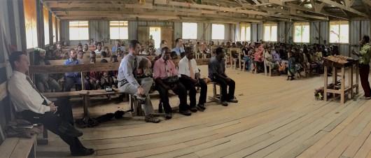 Kotidanga Baptist Church hosts the ordination of Jack Naudi.