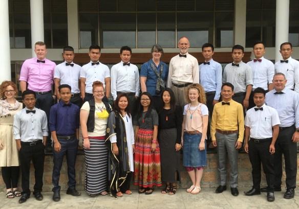 MABT Students at WorldView India.