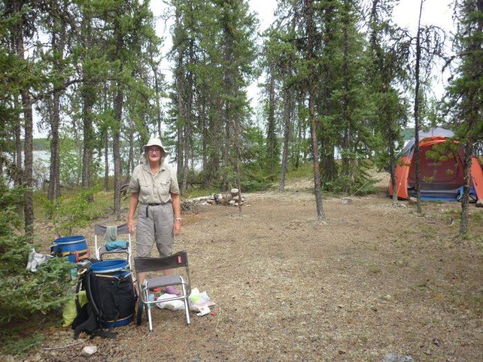 Otter Lake campsite in beautiful jackpine parkland