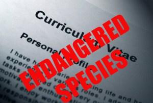 Curriculum Vitae - Endangered Species