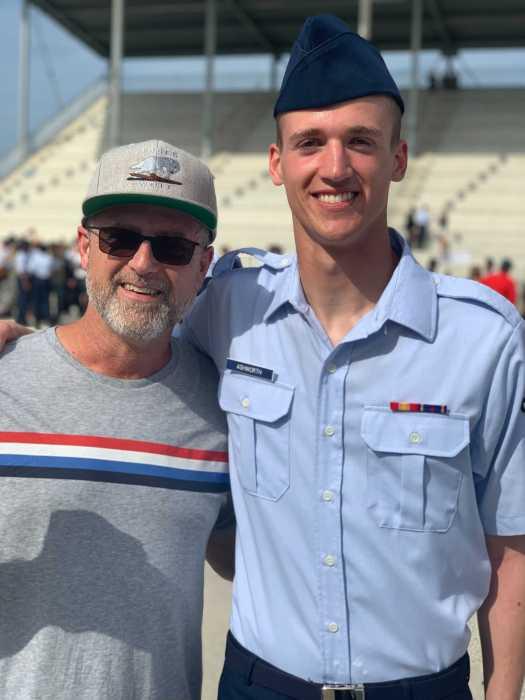 airmen graduate carl ashworth and john c ashworth July 2021
