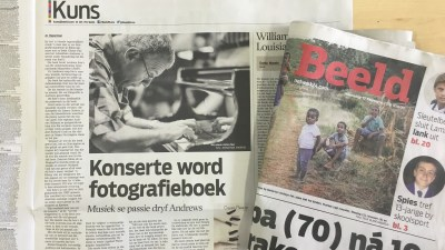 Permalink to:Beeld Newspaper Article