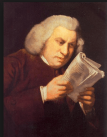 Samuel Johnson Reading
