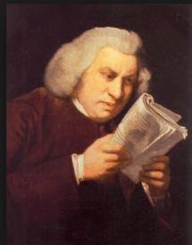 Samuel Johnson Reading