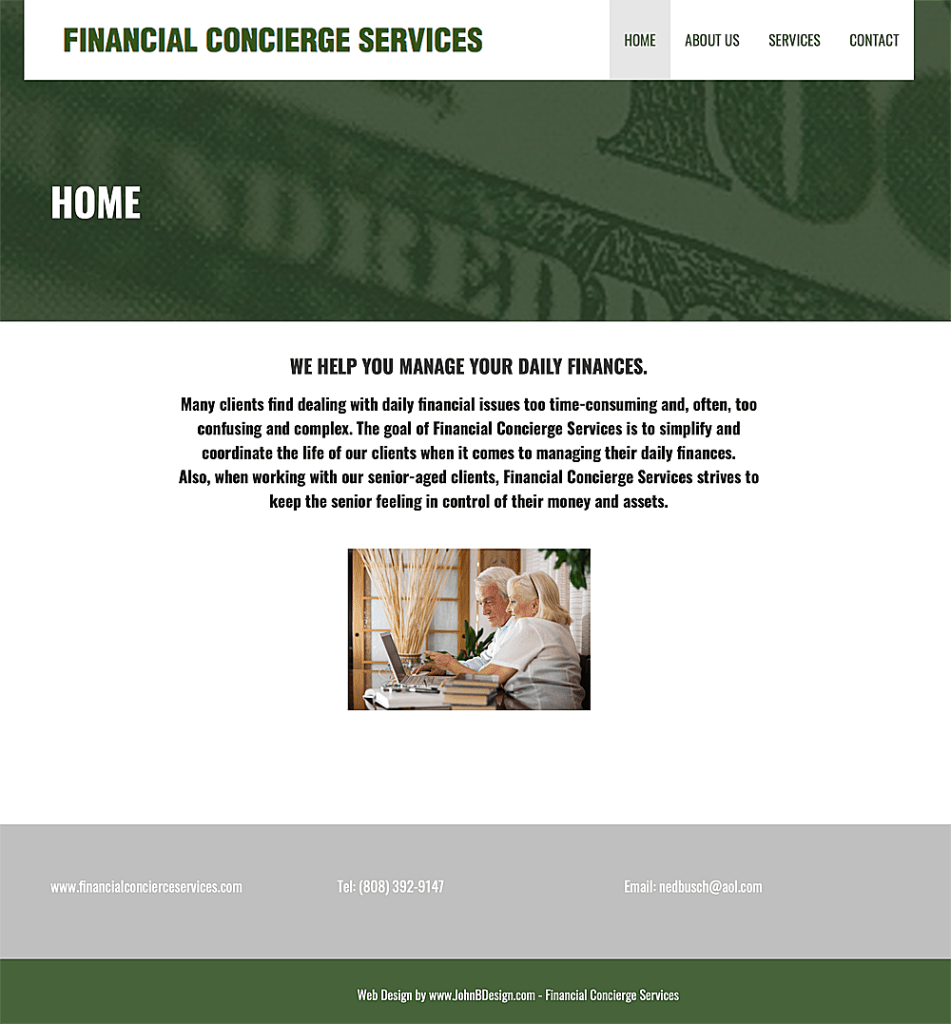 Financial Concierge Services