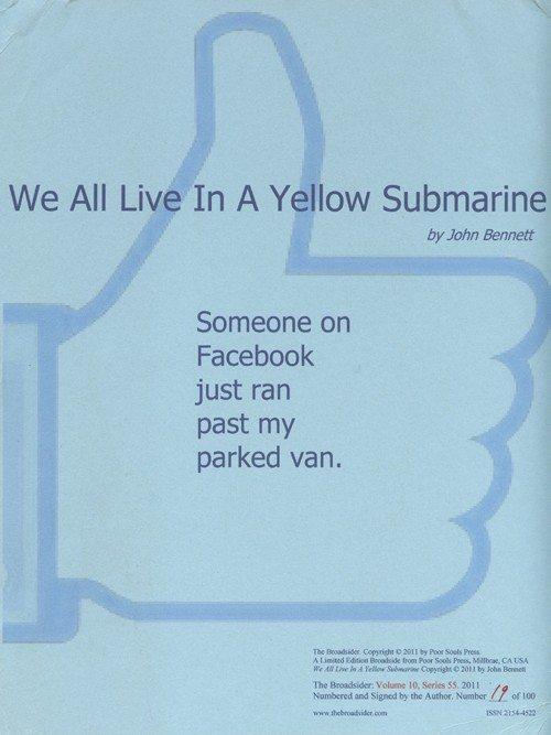 john bennett   we all live in a yellow submarine