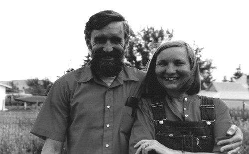 John Bennett & Maia Penfold | Ellensburg, Washington, 1981 | Photo by Cindy Krieble