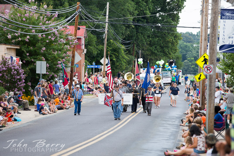 July 16, 2014.  Madison Fireman's Parade 2014