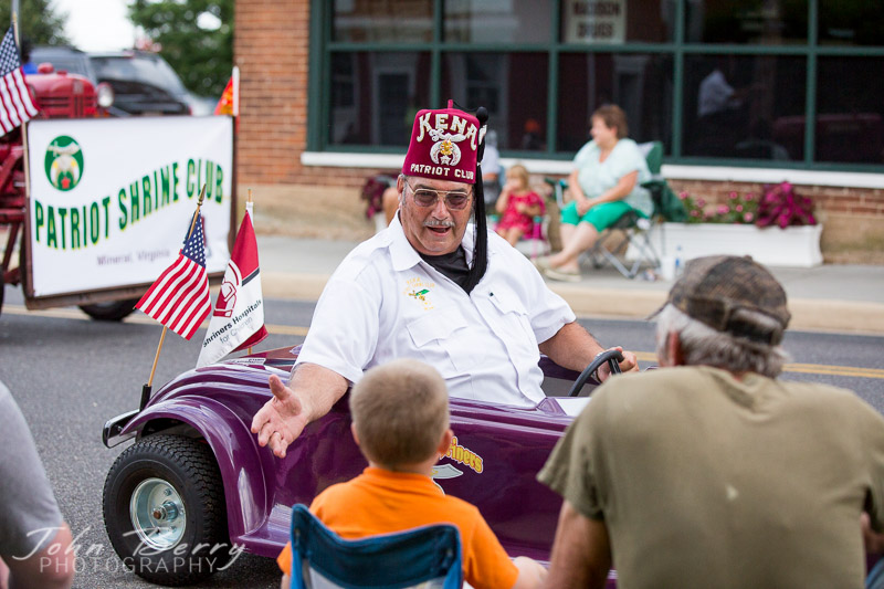 July 16, 2014.<br /> Madison Fireman's Parade 2014