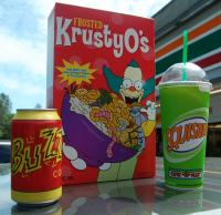 Simpsons Loot from the Kwik-E-Mart