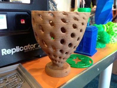 Printable wood filament!
