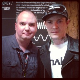 Me with Joel Zimmerman aka Deadmau5