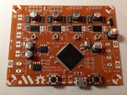 Brainwave 3d printer controller
