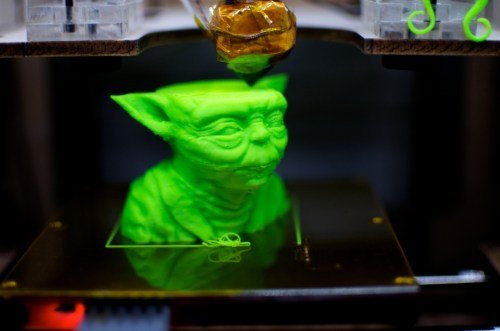 Printing Yoda