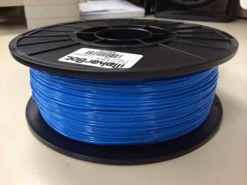 a spool of PLA filament