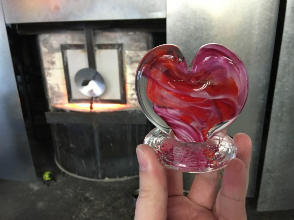 The finished heart