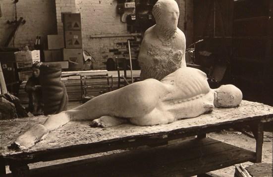 Pompeii figure