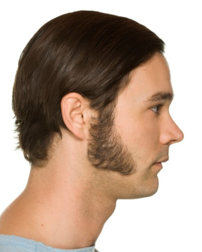 Large Triangle Sideburn