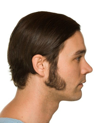 Medium Triangle Sideburn
