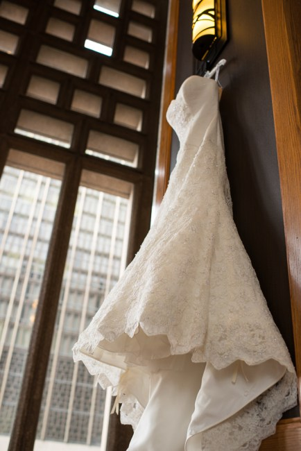 downtown denver wedding photography wedding dress