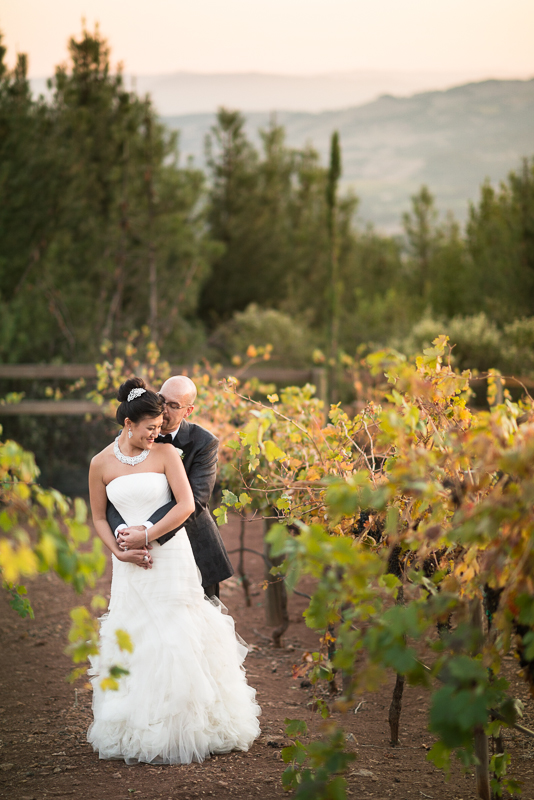 Sonoma California Vineyard Wedding in Glen Ellen