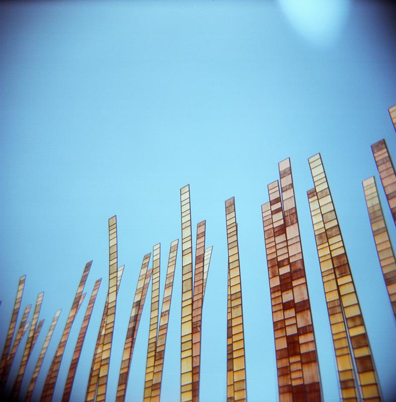 Holga Seattle sculpture